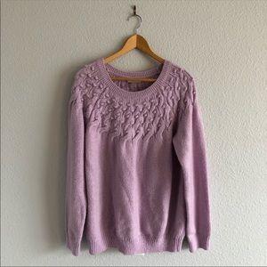 LOFT Lilac Purple Lavender Cozy Sweater